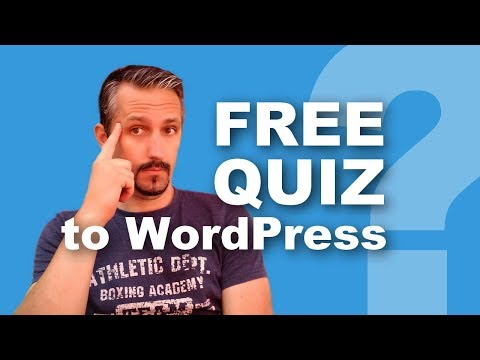 WordPress Quiz: How To Create Quizzes FOR FREE