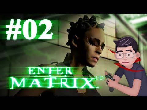 Enter the Matrix HD - Let's Play #02 - Driving around in a cardboard box