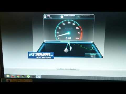 MTNL broadband COMBO UL DATA-599 plan speed test by speedtest.net.