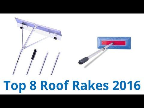 8 Best Roof Rakes 2016