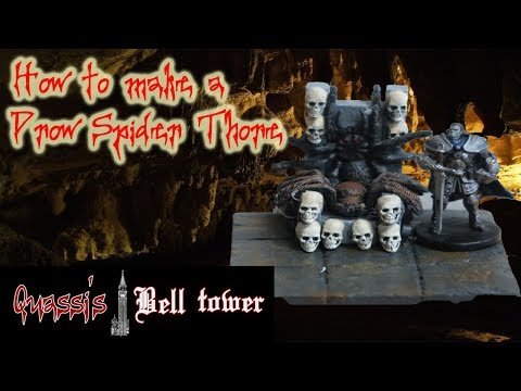 How to Make a Drow Spider Throne