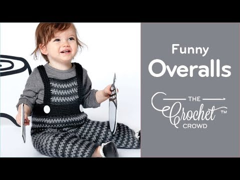 How to Crochet Baby Overalls: Funny Dungarees