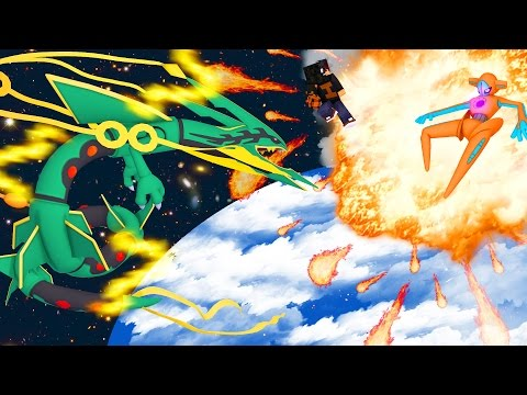 Minecraft: DEOXYS VS RAYQUAZA - VS POKEMON ⚔  (Novo Pixelmon) ‹ Ine ›