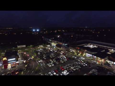 DJI Inspire 1 V2 Night shot @ Trianon Shopping Park