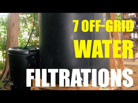 7 Off Grid Water Filtrations