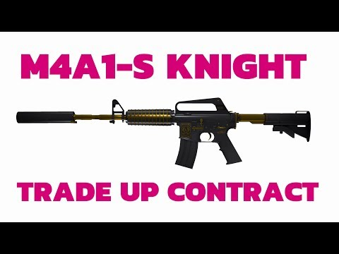 Factory New M4A1-S Knight Trade Up Contract