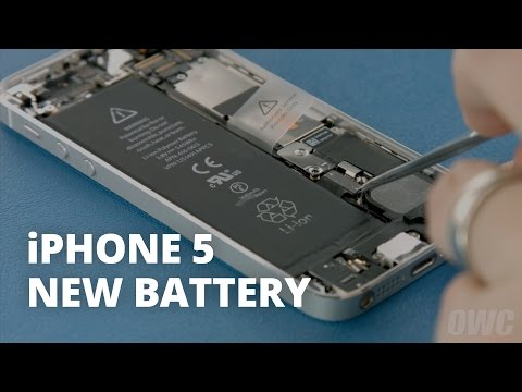 How to Replace the Battery in an iPhone 5