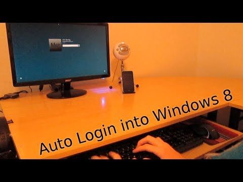 How To Auto Login in Windows 8 & 8.1