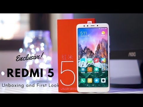 Xiaomi Redmi 5 Exclusive Unboxing (India) | First in India