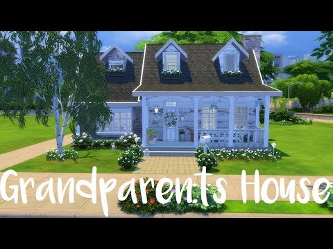 The Sims 4: Speed Build- GRANDPARENTS HOUSE + CC List