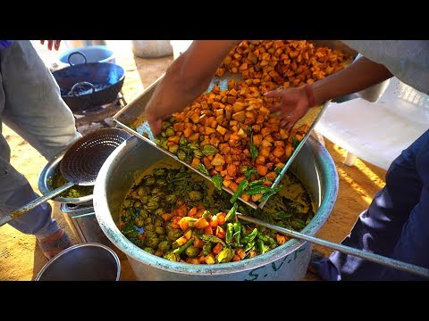 Biggest Mix Veg Curry Preparations in India | Restaurant Style Cooking