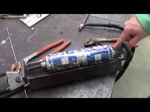How to Weld Aluminum Cans