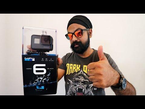 GoPro Hero 6 Black Unboxing | Test Shots !!
