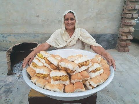 Mumbai Vada Pav - Chutney Recipe in Hindi - how to make vada pav - mumbai street food - वड़ा पाव