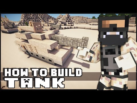 ► Minecraft : How to Make - Tank