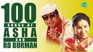 Top 100 Songs of Asha B & R.D.Burman | Chura Liya Hai Tumne | Piya Tu Ab To Aaja | Do Lafzon Ki Hai