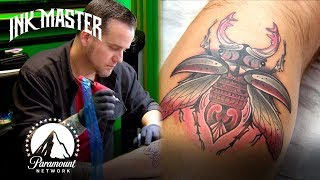 'Beetle & Father Time Tattoos' | Grudge Match Highlight