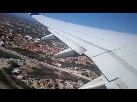 Delta Air Lines Boeing 737-800 take-off from Aruba