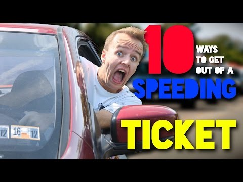 10 Ways to Get Out of a Speeding Ticket