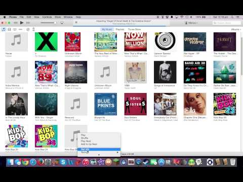 How to get album artwork on Itunes