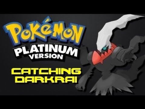 Pokemon Platinum: How to Catch Darkrai (Using Action Replay)