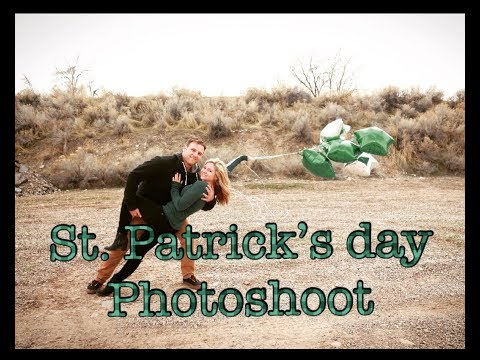 BEHIND THE SCENES/ St. Patricks Day photoshoot Vlog