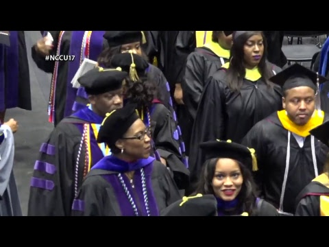 North Carolina Central University 2017 Graduate and Professional Commencement