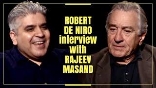 Robert De Niro interview with Rajeev Masand I The Irishman
