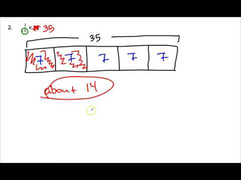 2.1B Estimating Products of Fractions