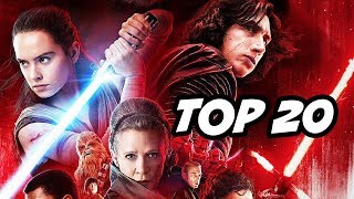 Star Wars The Last Jedi Easter Eggs - Secret Cameos and References