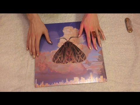 ASMR Unboxing : Chairlift 'Moth' LP (*Vinyl Collecting, Whispering, Crinkles*)
