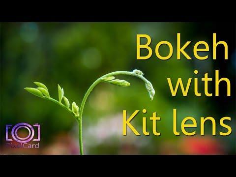 Bokeh Effect with Kit Lens (18-55mm) - (Kit Lens Tips) - (DSLR Tutorials) - Part-1