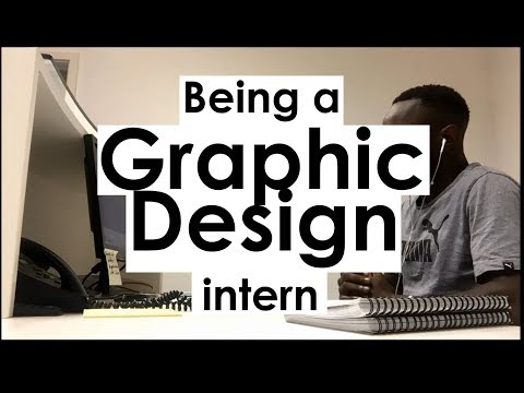 Working as a Graphic Design Intern (1st Year)