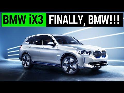 BMW iX3: Finally a Decent EV from BMW