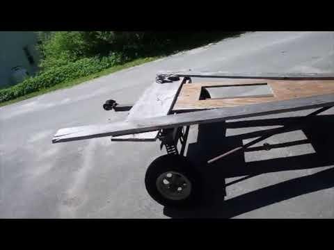 Making a kayak trailer
