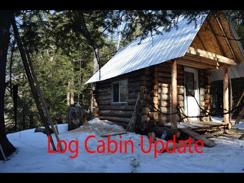 Log Cabin Building Compilation : Highlights From Off-Grid Cabin Build