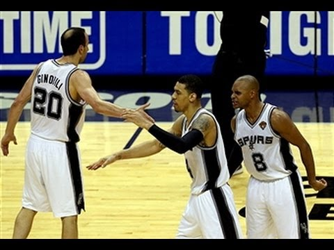 The Spurs Catch Fire in the Fourth Quarter to Take Game 1