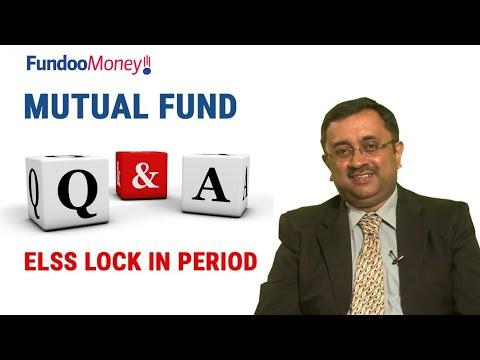 Mutual Fund Q&A, ELSS Lock In Period, January 19, 2018