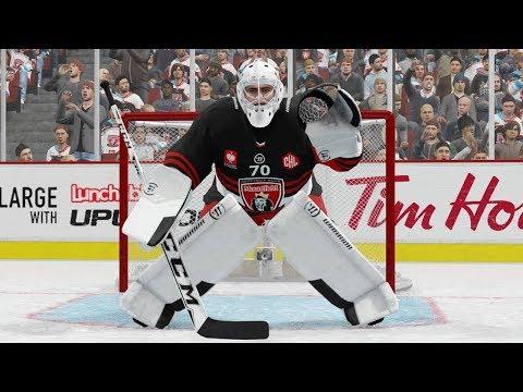 NHL 18 - EASHL Goalie #1 - BEST TEAM EVER!