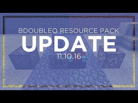 BdoubleO Minecraft Resource Pack Update 1.11