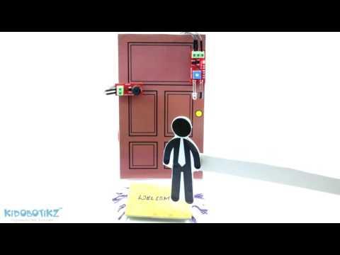 Automatic Door Bell Using IR Sensor