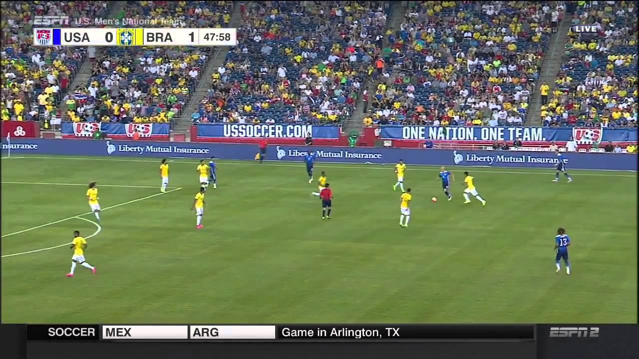 USMNT Brazil 2015 Friendly Full Game Brasil USA
