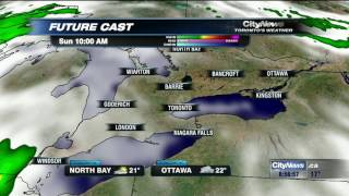 Video: Break in rainy weather expected this weekend