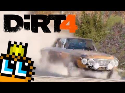 DiRT 4 | Spratt Forest Ascent, Michigan | Lancia Fulvia HF [PS4 Replay]