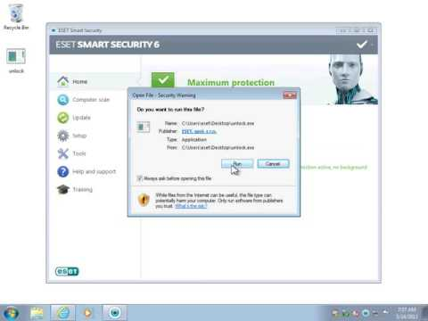 I forgot my ESET password  how to reset it   YouTube