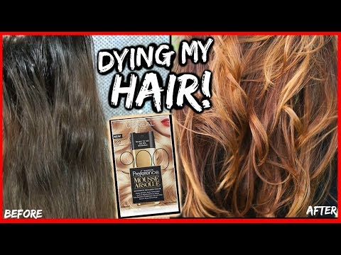 HOW I LIGHTEN MY DARK HAIR WITHOUT BLEACH TO LIGHT BROWN GOLDEN BLONDE! │ HOW TO COLOR DARK HAIR DIY