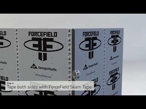 ForceField Corner Seal Installation
