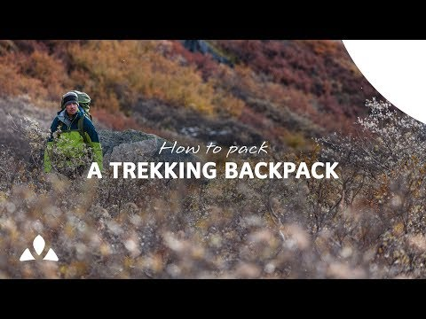 How to pack a backpack for trekking I VAUDE