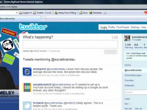 Social Media Management: Reply to @ Mentions on Twitter