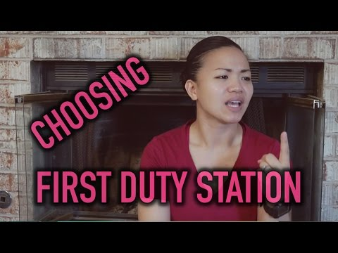 Military: Choosing your First Duty Station